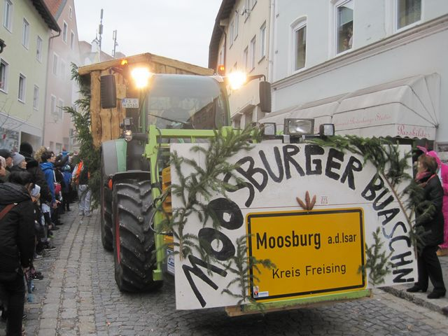 Faschingsumzug 2016 in Moosburg