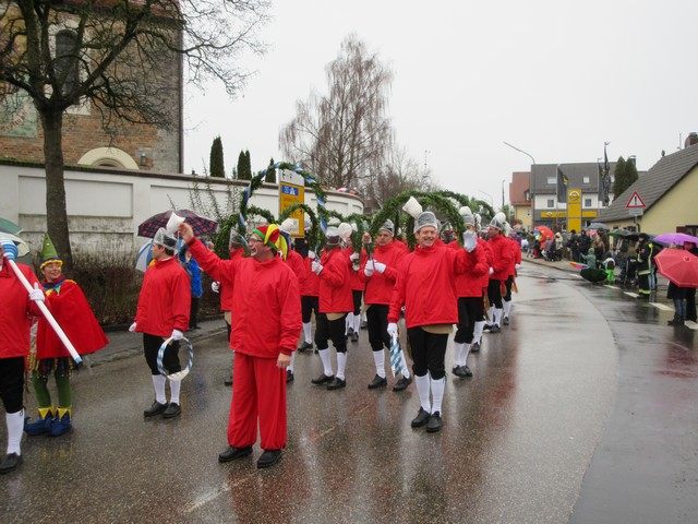 Faschingsumzug 2017 in Moosburg