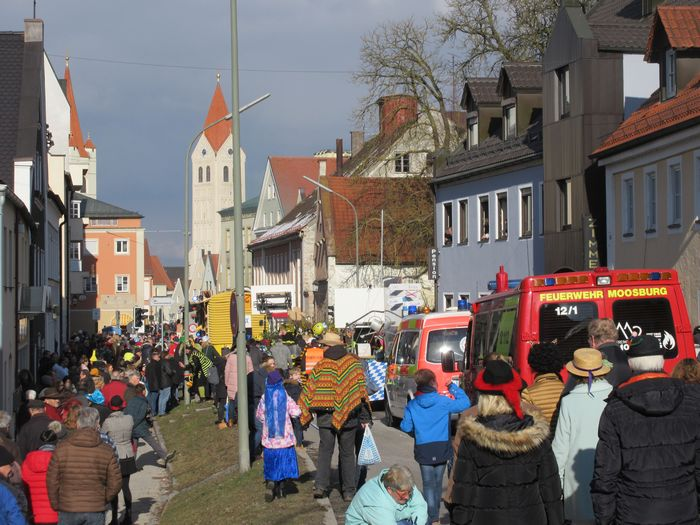 Faschingsumzug 2018 in Moosburg